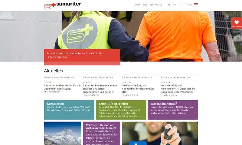 samariter zuerich sued partner schweizerischer samariterbund